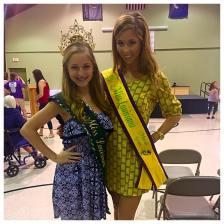 Emceeing the 2015 St.Martin Parish Pageant; Featured: 2015 Teen Miss Louisiana Mardi Gras