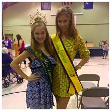 Emceeing the 2015 St.Martin Parish Pageant; Featured: 2015 Teen Miss Louisiana Mardi Gras