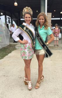 The 2015 Rayne Frog Festival Visiting Queen's Events; Featured: Louisiana Yambilee Queen LXIX