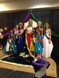 The 2015 Miss Louisiana Mardi Gras Pageant- Royal Court