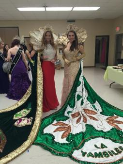 The 2015 Rayne Frog Festival Pageant, Featured: Louisiana Yambilee Queen