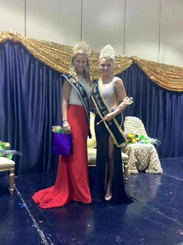 The 2015 Rayne Frog Festival Pageant, Featured: The newly crowned 2015 Rayne Frog Festival Queen