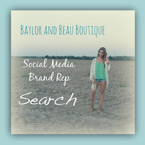 Don't Miss The Opportunity To Apply To Be A Social Media Rep For Baylor And Beau Boutique! (1/2)