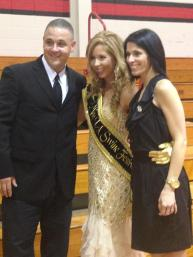Terrance & Misty Morgan With Daughter, Mikala Morgan - LA Swine Festival Queen
