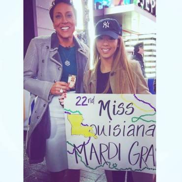 Mikala Morgan On Good Morning America   Miss Louisiana Mardi Gras