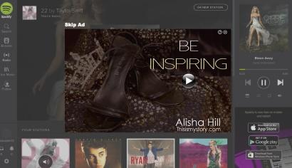 Spotify Ad Design